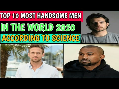 Top 10 Most Handsome Men in The World 2020 According to Science.