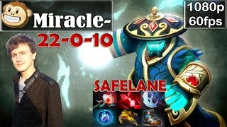 Miracle- (Monkey Business) - Storm Spirit SAFELANE | NO MERCY 22-0 | Dota 2 Pro MMR Gameplay