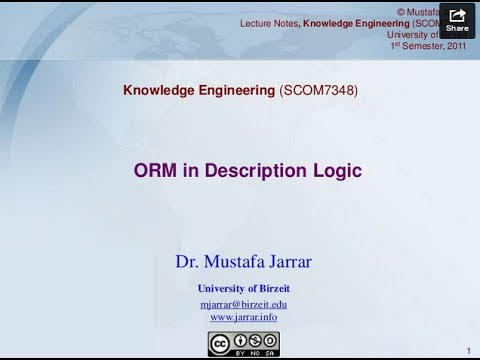 ORM in Description Logic