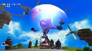 Sonic Adventure DX (PC) Trial Mode Metal Sonic