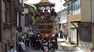 4K 城端曳山祭 2min 2018 Johana Hikiyama festival
