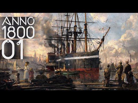 Anno 1800 Sandbox Gameplay Ep. 01 |