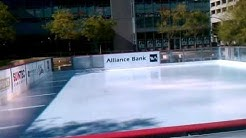 Ice skating comes to CityScape in Phoenix