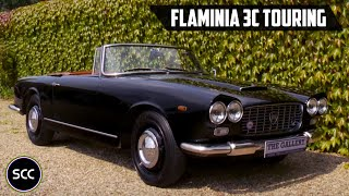 LANCIA FLAMINIA 2800 3C Touring Cabriolet 1968 - Modest test drive - Engine sound | SCC TV