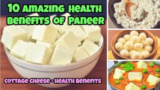 10 Health benefits of Paneer | Cottage cheese - Health benefits | Health benefits of cottage cheese