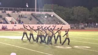 Graham HS Bella Blues Drill Team 10/29/15