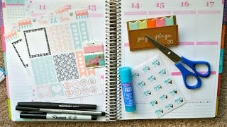 Plan With Me! Erin Condren Life Planner Weekly Spread May 11th to May 17th