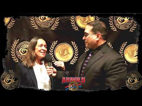 International Sports Hall Of Fame 2018: Judo Legend AnnMaria De Mars With Louis Velazquez
