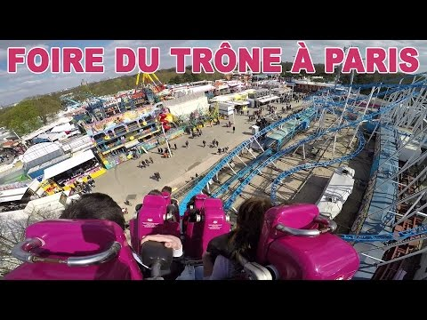 [VLOG] FUN à la FOIRE DU TRONE à Paris, le plus grand PARC FORAIN d'EUROPE - Fairground attractions