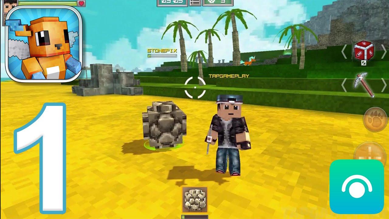 Pixelmon Hunter – Gameplay Walkthrough Part 1 – Adventure (iOS, Android)