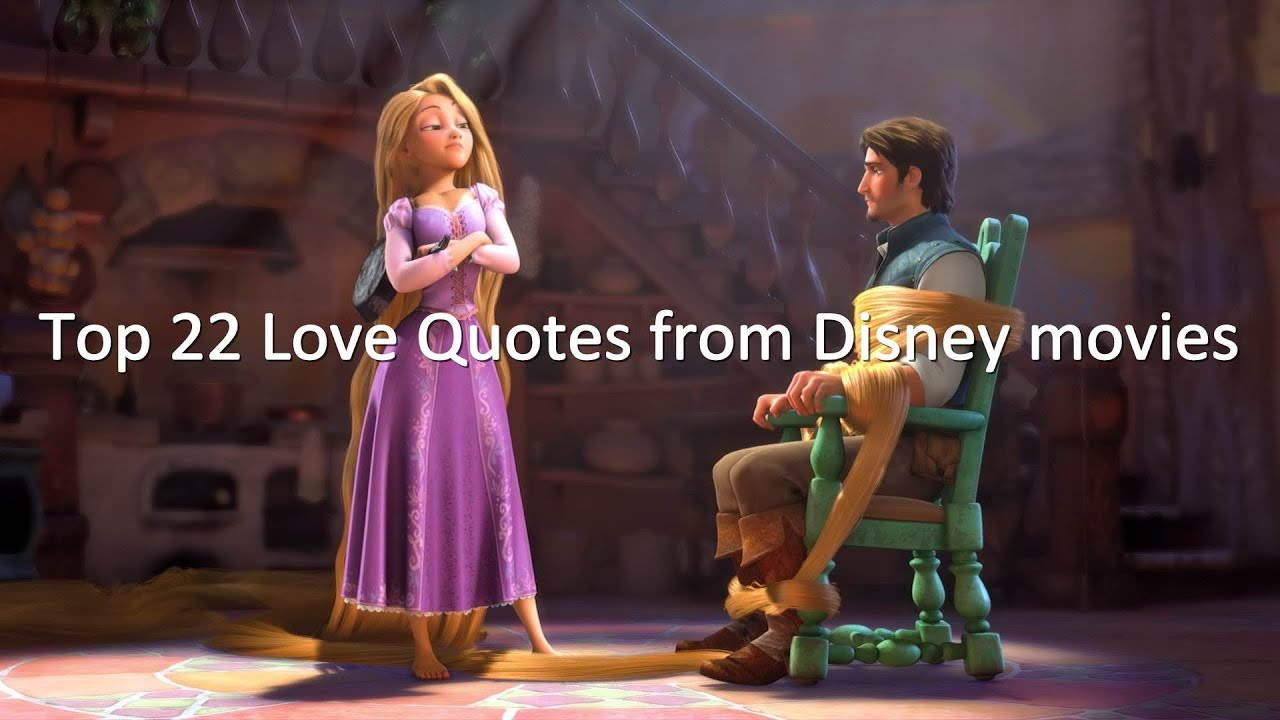 Favorite love story of them all |Disney Princess Love Quotes From Movies