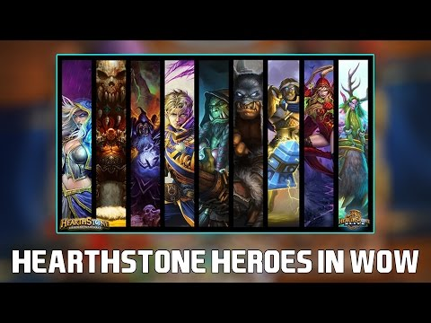 Hearthstone Heroes inside World of Warcraft