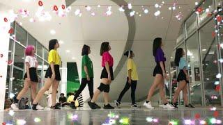 اجمل رقصة فتيات كوريات على اغاني أجنبية 🎧🎧
