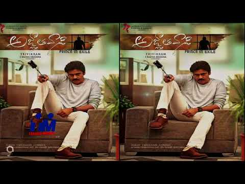 Agnyaathavaasi Musical Surprise - Pawan...