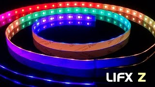 LIFX Z Color-Changing LED Strips - Unboxing & Quick Review