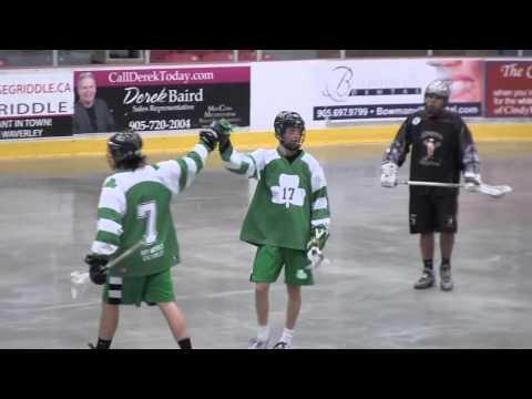 Green Gaels vs Indians