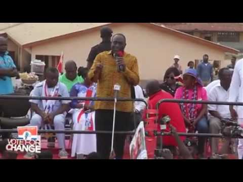 Nana Addo visits the people of Kwabre East