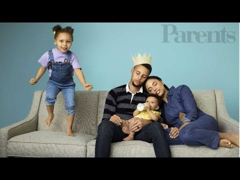Stephen Curry | At Home With the Warriors Star and His Family