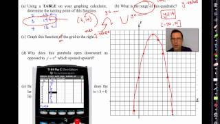 Common Core Algebra II.Unit 6.Lesson 1.Quadratic Function Review