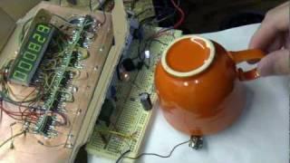Radioactive uranium cup Fiesta Ware red - HLC / Radioaktivní hrnek