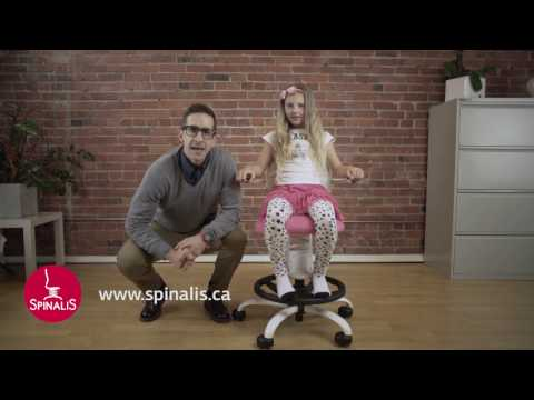 How to Improve Posture & Relieve Back Pain with SpinaliS Chairs