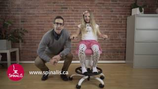 Commercial for Spinalis chairs