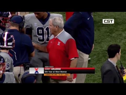 West Monroe vs Zachary   Louisiana High School Championship Football