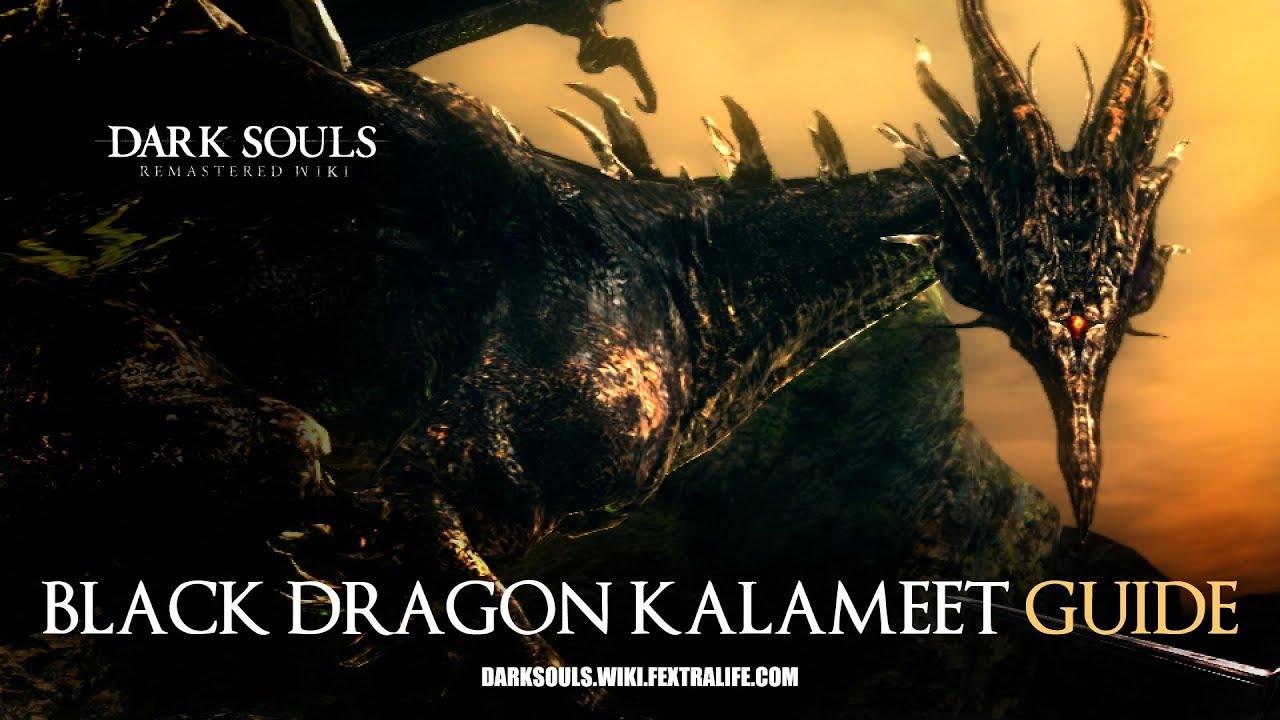 Dark Souls Kalameet