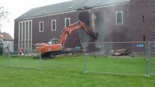 Profanierung und Abriss St.-Barbara-Kirche in Suderwich