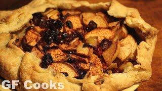 Apple Cranberry Galette Recipe - GardenFork Cooks
