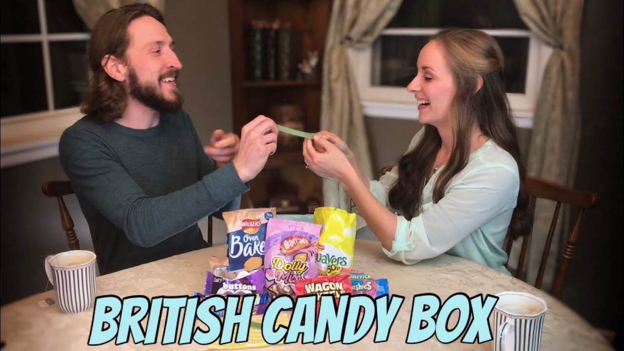 Americans Trying the British Candy Box - January 2019