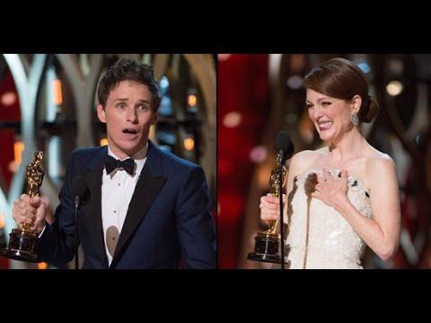 Julianne Moore and Eddie Redmayne win top acting honors
