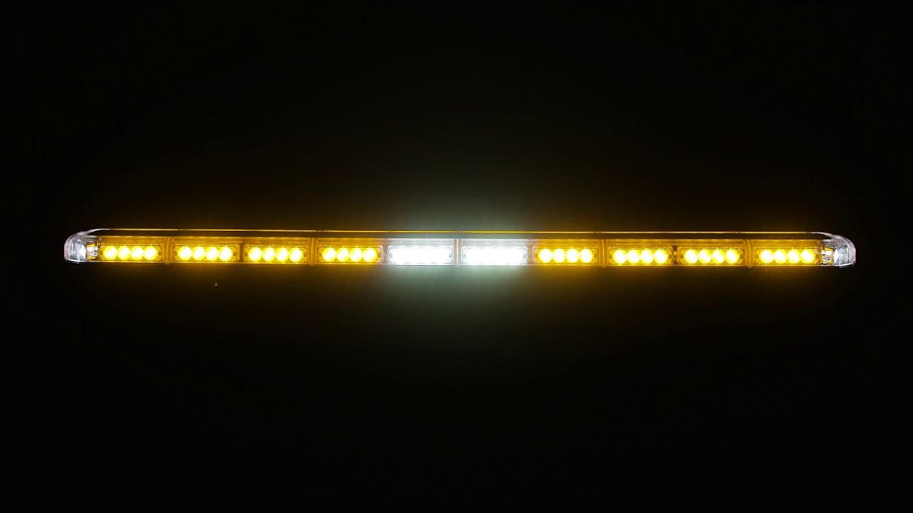 K Force Micro Tir 50 Led Full Size Light Bar Flash Patterns Youtube Wiring Diagram For Speedtech Bars Lights