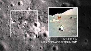 NASA | Sharper Views of Apollo 12, 14, and 17 Sites