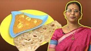 Paneer Butter Masala | Mallika Badrinath Recipes
