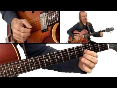 Download Jazz Guitar Lesson - #30 2-Key Progression: Soloing - David Becker