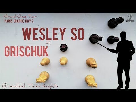 Wesley So's lesson in chess preparation ⎸So vs Grischuk, GCT Paris, Day 2