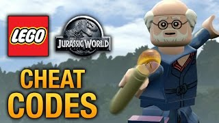 LEGO Jurassic World - Cheat Codes Part 1 - 34 Cheat Codes (HD)