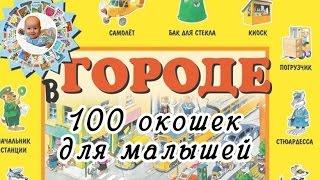 Серия книг-картонок для разглядывания ''100 окошек для малышей'' (илл. Тони Вулфа)
