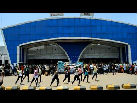 FLASH MOB!!!! DIMAPUR BY NIT NAGALAND(Official Video)