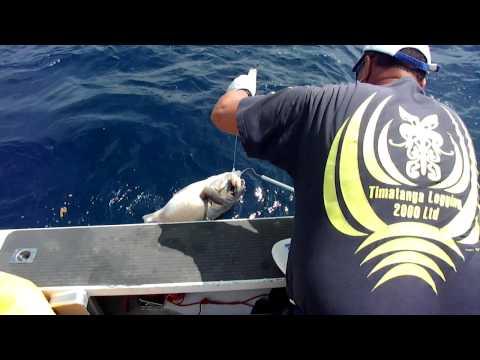 Maori boys go fishing off Whakaari.MP4