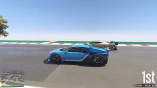 GTA 5 Top Speed Drag Race (Truffade Nero vs. RE-7B)