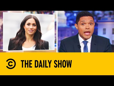 Queen Holds Royal Summit On Harry & Meghan Split | The Daily Show With Trevor Noah