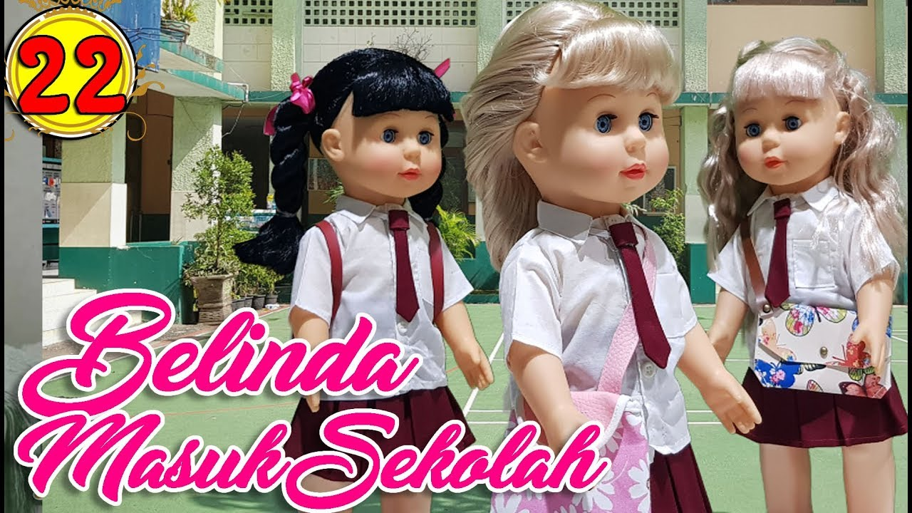 22 Belinda Masuk Sekolah - Boneka Walking Doll Cantik Lucu -7L ... 3ebf251507
