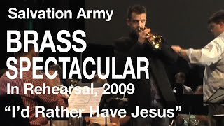"Salvation Army Brass Spectacular 2009 - ""I"