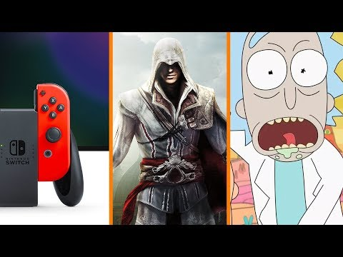 NEW Nintendo Switch Hardware + Ubisoft Safe from Vivendi FOREVER + Why No More Rick & Morty