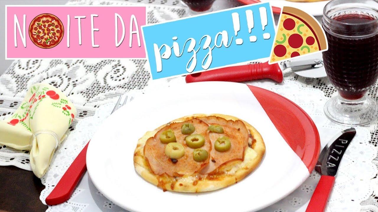 e72fa23d10 RECEBENDO AMIGOS  NOITE DE PIZZA - DECORAÇÃO DA MESA POSTA + ...