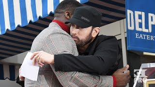 Eminem's Emotional Speech At 50 Cent's Hollywood Walk Of Fame Ceremony (Multicam Video)