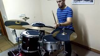 How Long - Charlie Puth (Drum Cover with Evans Sound off Heads)