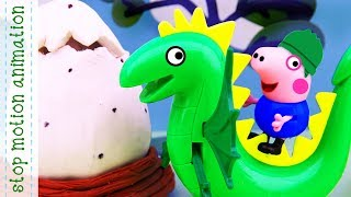 The Dinosaur Egg Peppa Pig toys animation new english episodes 2018